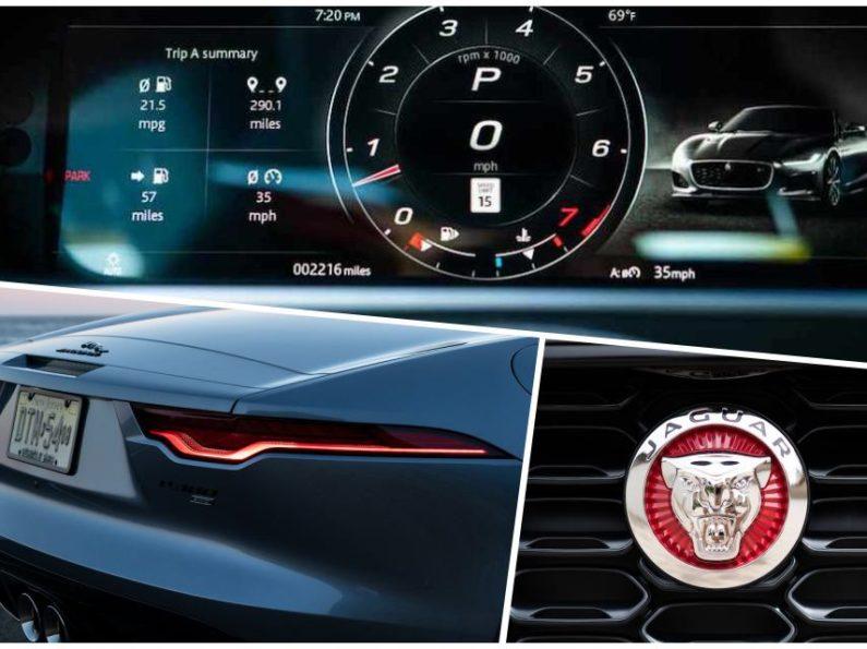 Jaguar F-Type R-Dynamic Convertible del 2021, un auténtico espectáculo